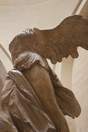 Winged Victory @ the Louvre